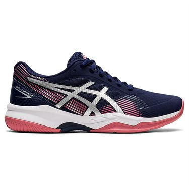 Asics Gel Game 8 Womens Tennis Shoe Peacoat/Pure Silver 1042A152 402
