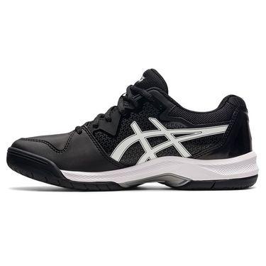 Asics Gel Dedicate 7 Womens Tennis Shoe Black/White 1042A167 001
