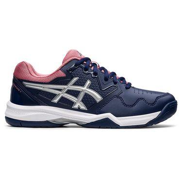 Asics Gel Dedicate 7 Womens Tennis Shoe Peacoat/Pure Silver 1042A167 400