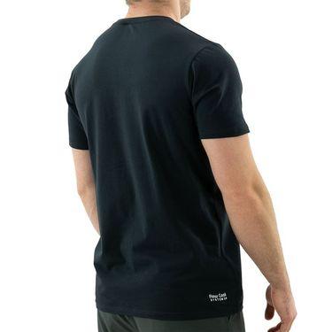 K Swiss Hypercourt Logo Tee Shirt Mens Dark Shadow 104912 063