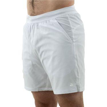 K Swiss Hypercourt 7 inch Short Mens White 104914 100