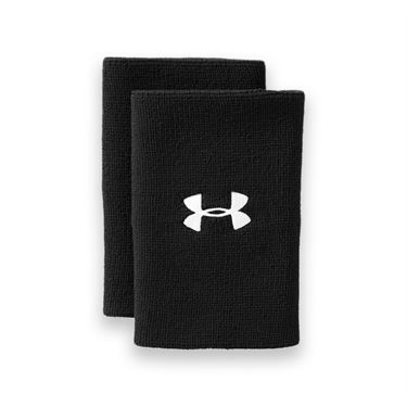 Under Armour 6 Inch Performance Wristband - Black