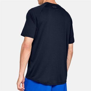 Under Armour Tech 2.0 Tee Shirt Mens Academy/Graphite 1326413 408