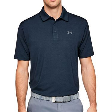 Under Armour Playoff 2.0 Polo Shirt Mens Academy/Pitch Gray 1327037 408