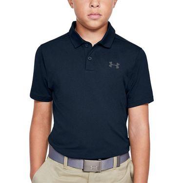 Under Armour Boys Performance Polo Shirt Academy/Pitch Gray 1342083 408