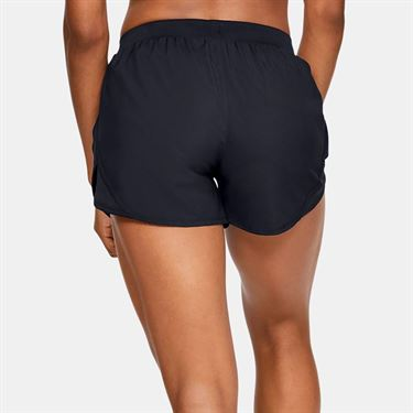 Under Armour Fly By 2.0 Short Womens Black 1350196 001