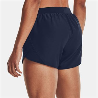 Under Armour Fly By 2.0 Short Womens Midnight Navy/Full Heather 1350196 412