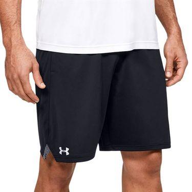 Under Armour Locker 9 inch Pocketed Shorts Mens Black/White 1351350 001