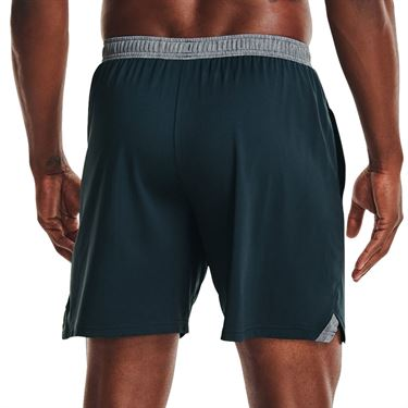 Under Armour Locker 7 inch Pocketed Shorts Mens Stealth Gray/White 1351353 008