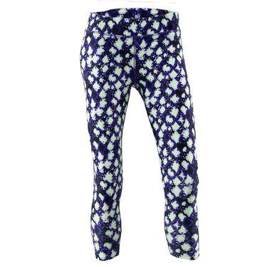 Under Armour Girls Heat Gear Printed Ankle Crop Pant Purple Zest 1361239 754