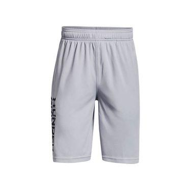 Under Armour Boys Prototype 2.0 Wordmark Shorts Mod Gray/Black 1361818 011