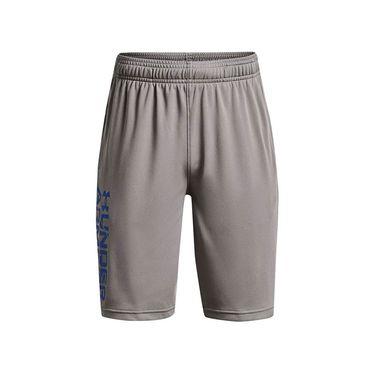 Under Armour Boys Prototype 2.0 Wordmark Shorts Concrete/Tech Blue 1361818 066