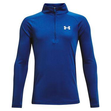 Under Armour Boys Tech 1/2 Zip Pullover Tech Blue/White 1363286 432
