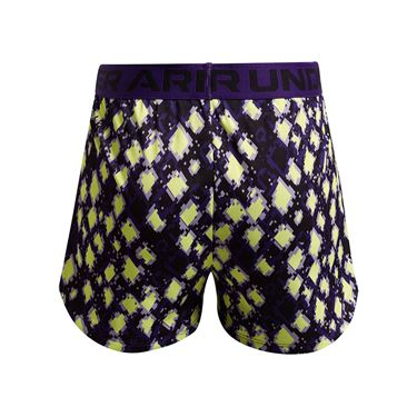 Under Armour Girls Play Up Printed Shorts Purple Zest/Black 1363371 754