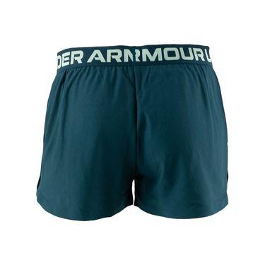 Under Armour Girls Play Up Shorts Blue Note/Aqua Foam 1363372 413