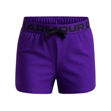 Under Armour Girls Play Up Shorts Purple Zest/Black 1363372 754