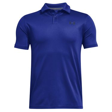 Under Armour Boys Performance Polo Shirt Royal/Academy 1364425 400