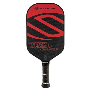 Selkirk Vanguard Hybrid Invikta Midweight Pickleball Paddle - Crimson/Black