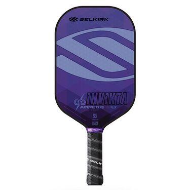 Selkirk Amped Invikta Lightweight Pickleball Paddle - Purple