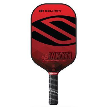 Selkirk Amped Invikta Midweight Pickleball Paddle - Red