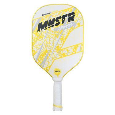 Babolat MNSTR Touch Pickleball Paddle - White/Yellow