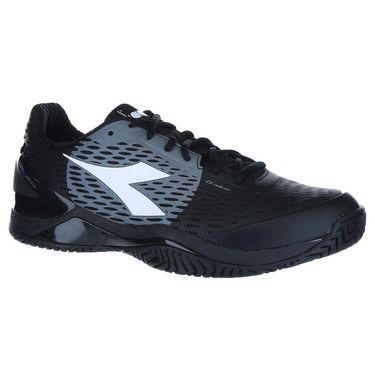 Diadora Speed Blushield 3 Mens Tennis Shoe - Black/Steel Grey