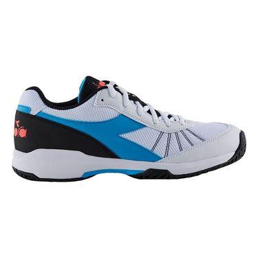 Diadora Speed Challenge 3 Mens Tennis Shoe White/Blue 175575 C6087
