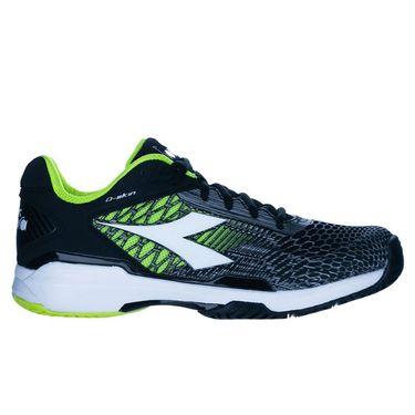 Diadora Speed Competition 5 Mens Tennis Shoe Black/White/Yellow 175586 C3740û