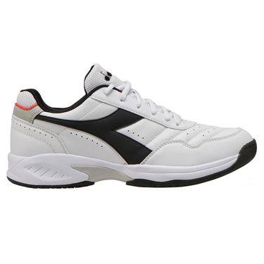 Diadora Volee 4 Mens Tennis Shoe White/Blue Corsair 176947 C1494