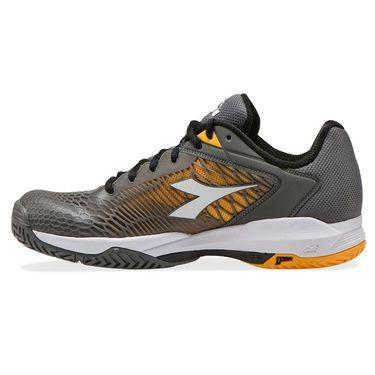 Diadora Speed Competition 6 AG Plus Mens Tennis Shoe Quiet Shade/White/Saffron 176956 C9212
