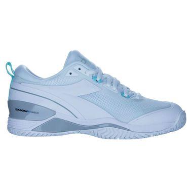 Diadora Speed Blushield 5 AG Club Womens Tennis Shoe White 178200 C6180