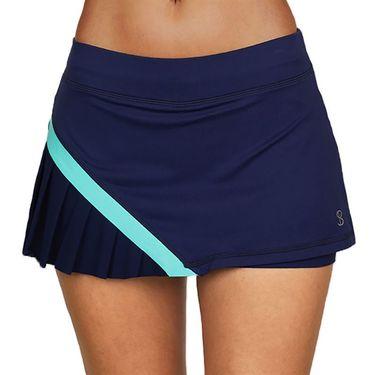 Sofibella Speed Lines 12 inch Skirt Womens Navy 1802 NVY