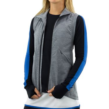 Lija Swift Solstice Vest Womens Heather Black 19A 6525T5