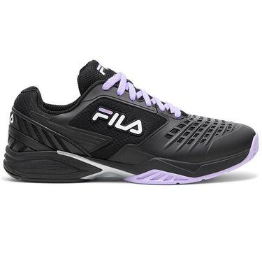 Fila Axilus 2 Energized Mens Tennis Shoe Black/White/Lavender 1TM01389 019