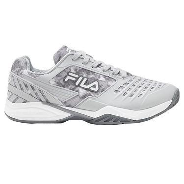 Fila Axilus 2 Energized Mens Tennis Shoe Grey/White 1TM01731 063