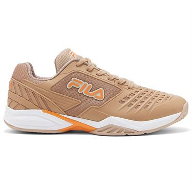 Fila Axilus 2 Energized Mens Tennis Shoe Stucco Beige/White 1TM01748 224