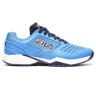 Fila Axilus 2 Energized Mens Tennis Shoe Marina Blue/White 1TM01748 421