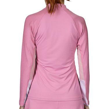 Sofibella Euphoria 1/4 Zip Long Sleeve Top Womens Macrame 2034 MCE