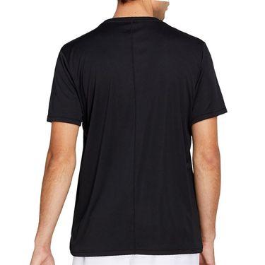 Asics Practice Graphic Tee Shirt Mens Performance Black 2041A090 001