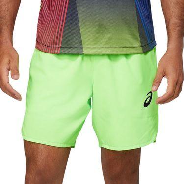 Asics Match 7 inch Short Mens Green Gecko 2041A135 301