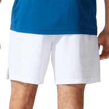 Asics Court 7 inch Short Mens Brilliant White 2041A150 100