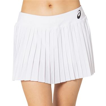 Asics Match Pleat Skirt Womens Brilliant White 2042A151 100