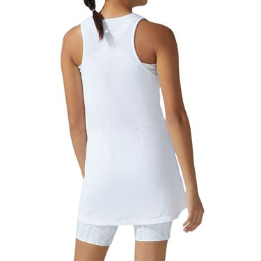 Asics Strong 92 Dress Womens Brilliant White/Glacier Grey Print 2042A191 100