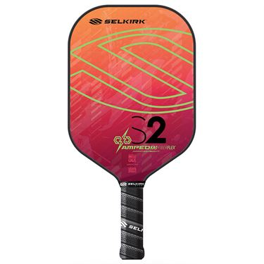 Selkirk Amped S2 Midweight Pickleball Paddle - Electrify