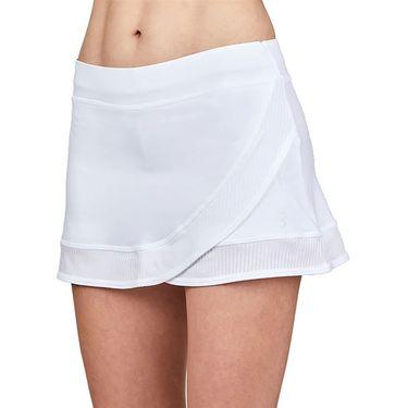 Sofibella Alignment 12 inch Skirt Womens White 2068 WHT