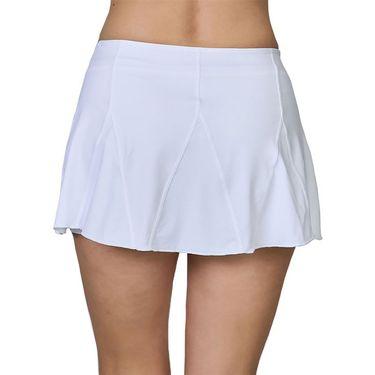Sofibella Center Line 12 inch Skirt Womens White 2069 WHT