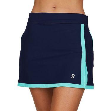 Sofibella Speed Lines 16 inch Skirt Womens Navy 2072 NVY