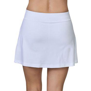 Sofibella Center Line 15 inch Skirt Womens White 2075 WHT