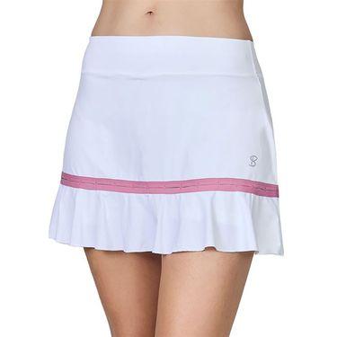 Sofibella Center Line 14 inch Skirt Womens White/Macrame 2076 WHT