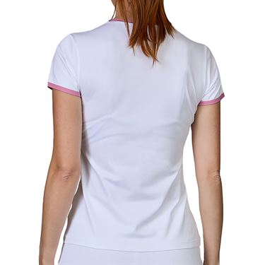 Sofibella Center Line Top Womens White/Macrame 2077 WHT